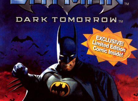 Batman Dark Tomorrow – Microsoft Xbox