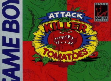 Attack Of The Killer Tomatoes – Nintendo Game Boy