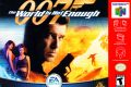 007 The World Is Not Enough - Nintendo 64