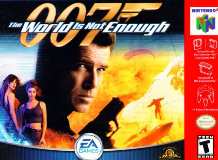 007 The World Is Not Enough – Nintendo 64
